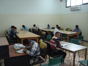قسم المكتبة - غرفة المطالعة1