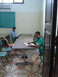قسم المكتبة - غرفة المطالعة2