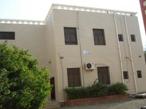 مبنى المكتبة